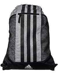 953917caa6fc Fat Stripes Ii Sack Pack, One Size, White Grip/black/sun Glow White
