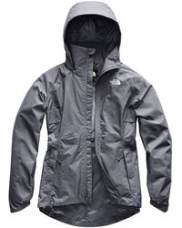 The North Face Inlux Dryvent Jacket Grisaille Grey White Heather Size M 2019 Winter Jacket