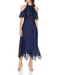 Coast Charley Vestito Elegante Donna - Blu