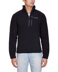 Columbia - Fast Trek Ii Half-zip Fleece Jacket - Lyst