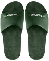 Havaianas Slide Brasil - Green