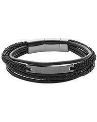 Fossil Bracelet - Noir