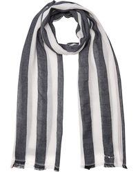 Tommy Hilfiger Tailored Stripes Scarf Bufanda - Azul