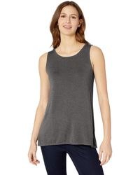 Amazon Essentials Patterned Swing Tank Shirt - Grey
