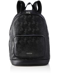 Guess Baldo Backpack File - Black