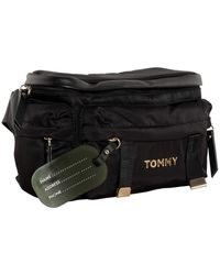 Tommy Hilfiger Th On The Move Bumbag - Noir