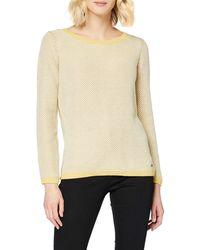 Esprit 129ee1i005 suéter - Amarillo