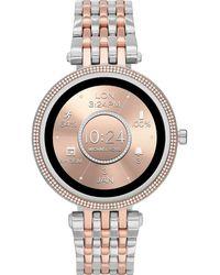 Michael Kors Connected Smartwatch Gen 5E Darci para Mujer con tecnología Wear OS de Google - Metálico