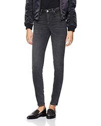 Lee Jeans Scarlett High Indie Worn Dark Jeans Skinny Donna - Blu