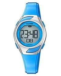 Calypso St. Barth S Digital Quartz Watch With Plastic Strap K5738/3 - Blue