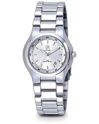 FA0501-41 - Orologio da polso donna, acciaio inox, colore: argento -  Multicolore