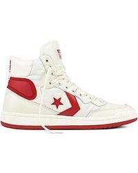 Converse Unisex Adults' Lifestyle Fastbreak Hi Nylon Fitness Shoes - White