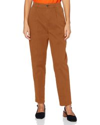 Esprit 070ee1b310 Trouser - Brown