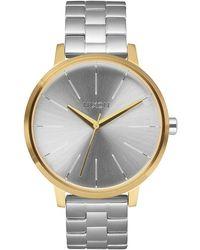 Nixon S Analogue Quartz Watch With Stainless Steel Strap A099-2062-00 - Metallic