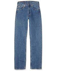 Levi's 501 Original Fit Männer Die klassische Jeans mit geradem Schnitt - Blau