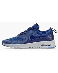 Air Max Thea Jacquard, Low top Trainers Blue