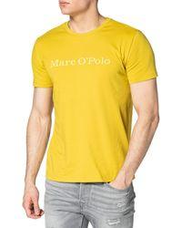 Marc O'polo 123222051230 T-shirt - Yellow