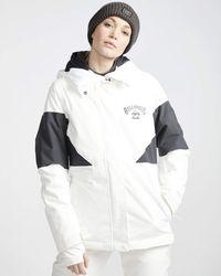 Billabong Women's Say What Snow Jacket - White