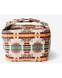 Pendleton Canopy Canvas Square Cosmetic Case - Multicolor