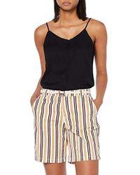 Esprit Pantalones Cortos para Mujer - Blanco