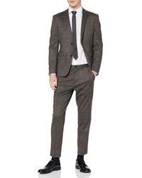 Esprit Collection 100eo2m302 Business Suit Trousers Set - Brown