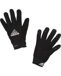 adidas Men's Fieldplayer Gloves - Black/white (10)
