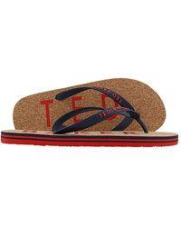 Ted Baker Donel Flip-flop - Red