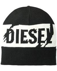 DIESEL K-becky Cap Beanie Hat - Black
