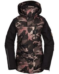Volcom Vault 4-in-1 Insulated Snow Jacket - Black