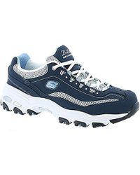 4887ff38fa6cc7 Skechers D lites Me Time Low-top Sneakers Black white grey in White ...