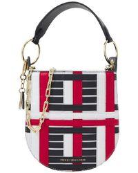 Tommy Hilfiger Mini Hobo Bag Luxe - Multicolour