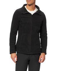 Regatta FAYONA Forro Tejido Polar Symmetry con Cuello Alto Cerrado y Costuras Laterales curvadas Sweater - Negro