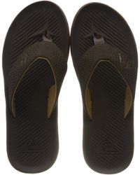 Quiksilver Haleiwa Plus-sandals Flip Flops - Brown