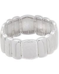 Nine West - Crystal Stretch Bracelet - Lyst