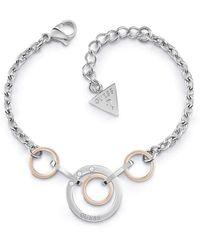 Guess - Eternal Circles Armband UBB29030-S - Lyst