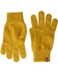 Levi's Ben Touch Screen Gloves Guanti Pesanti - Giallo