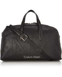 Calvin Klein Shaped Large Duffle - Noir