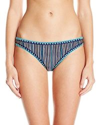 Sperry Top-Sider - Sea Breeze Stripe Reversible Hiptster Bikini Bottom - Lyst