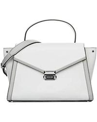 Mano A Pelle Donna Whitney Michael Borsa Mod30t8sxis3t Grande In WH2YDe9EI