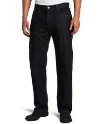 Levi's Uomo Jean 550 Relaxed-Fit Jeans - Blu