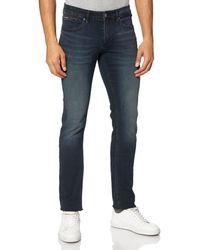 Tommy Hilfiger Tommy Jeans Hombre Scanton Cobco Jeans - Azul