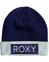 Roxy Bonnet à revers - - ONE SIZE - Bleu