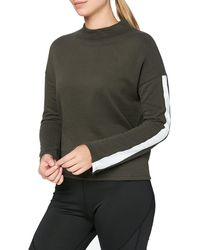 AURIQUE Side Stripe - Black