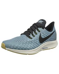 626257460fb3 Nike Air Zoom Pegasus 35 Competition Running Shoes in Blue for Men ...
