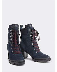 Tommy Hilfiger - Fw0fw04341 Ankle Boots - Lyst