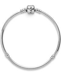 PANDORA Pulsera charm Mujer plata - 590702HV-15 - Metálico