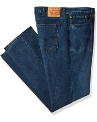 Levi's Big And Tall 559 Relaxed Straight Jeans - Blue