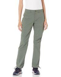 Amazon Essentials Pantalon de randonnée Extensible tissé avec Poches Utilitaires - Vert