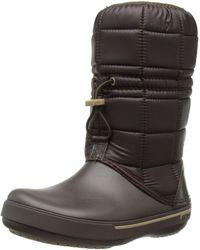 Crocs™ Crocband II.5 Winter Boot - Schwarz