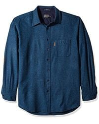 Pendleton - Big & Tall Long Sleeve Trail Shirt, Blue Mix, Xxl-tall - Lyst